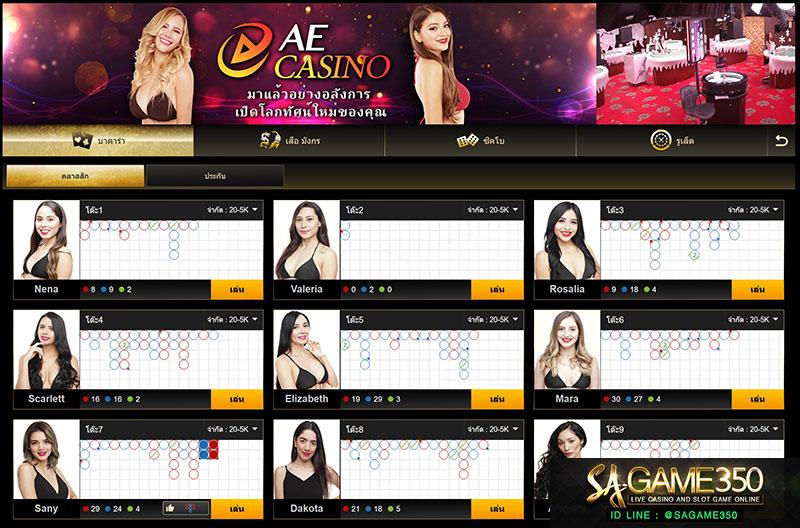 เว็บพนัน AE Casino